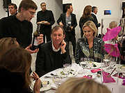KEITH COVENTRY; BODIL BLAINE, Parasol unit Foundation for Contemporary Art celebrates the FoundationÕs 5th Anniversary. Wharf Rd. London.<br /> Dinner in  An exhibition of works by Darren Almond and Yang Fudong . 4 MAY 2010 *** Local Caption *** -DO NOT ARCHIVE-© Copyright Photograph by Dafydd Jones. 248 Clapham Rd. London SW9 0PZ. Tel 0207 820 0771. www.dafjones.com.<br /> KEITH COVENTRY; BODIL BLAINE, Parasol unit Foundation for Contemporary Art celebrates the Foundation's 5th Anniversary. Wharf Rd. London.<br /> Dinner in  An exhibition of works by Darren Almond and Yang Fudong . 4 MAY 2010