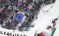 05.02.2017, Heini Klopfer Skiflugschanze, Oberstdorf, GER, FIS Weltcup Ski Sprung, Oberstdorf, Skifliegen, im Bild William Rhoads (USA) // William Rhoads of United States during mens FIS Ski Flying World Cup at the Heini Klopfer Skiflugschanze in Oberstdorf, Germany on 2017/02/05. EXPA Pictures © 2017, PhotoCredit: EXPA/ Peter Rinderer