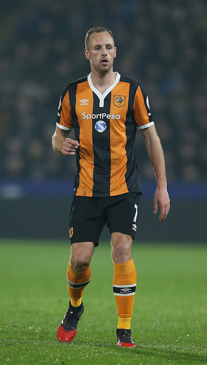 David Meyler of Hull City during the English Premier League match at the KCOM Stadium, Kingston Upon Hull. Picture date: December 30th, 2016. Pic Simon Bellis/Sportimage