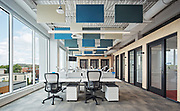 Interiors and Architecture Photography: Capital One Offices at 950 Beaumont by Group Montoni - Montreal
