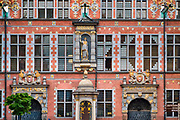 Wielka Zbrojownia, nazywana też arsenałem - fasada od strony ulicy Piwnej.