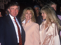 Mar 12, 1994 - Los Angeles, CA, USA - DONALD TRUMP at 'The Ivy' with Deidre Hall and Marla Maples Trump. (Credit Image: © Kathy Hutchins/ZUMAPRESS.com)