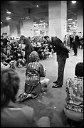 PRINCE MICHAEL OF KENT, Crufts, Olympia. London. 1987.