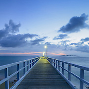 Dawn at Point Lonsdale Pier, Victoria, Australia