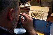 """PMM290109#Portuguese Mint """"Casa da Moeda Lisbon"""" - minting coins department."""