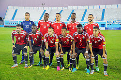 October 7, 2017 - Monastir, Tunisia - Team of Libya during the qualifying match for the FIFA 2018 World Cup in Russia between Libya and the Democratic Republic of Congo (DR Congo) at Mustapha Ben Jannet stadium in Monastir  (Credit Image: © Chokri Mahjoub via ZUMA Wire)