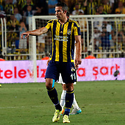 Fenerbahce's Van Persie and Shakhtar Donetsk's during their UEFA Champions league third qualifying round first leg soccer match Fenerbahce between Shakhtar Donetsk at the Sukru Saracaoglu stadium in Istanbul Turkey on Tuesday 28 July 2015. Photo by Aykut AKICI/TURKPIX