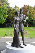 The Rose of Tralee statue in Tralee Town Park.<br /> Picture by Don MacMonagle