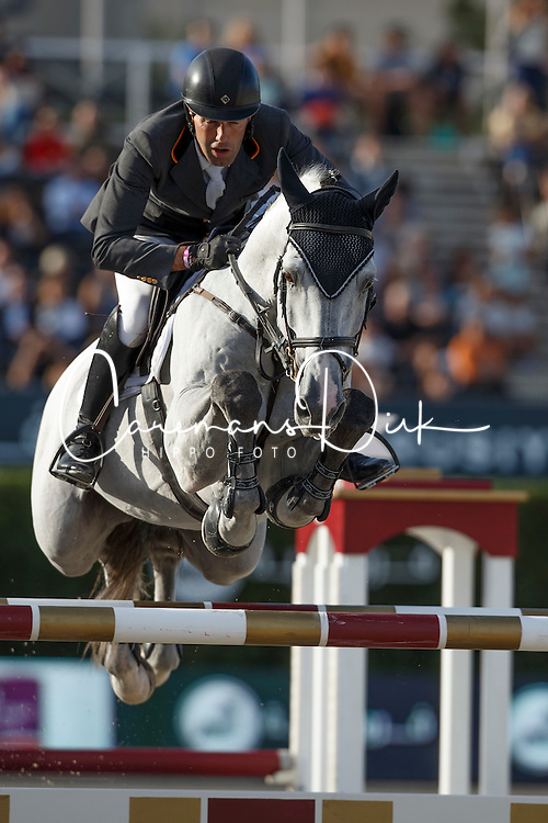 Alvarez Aznar Eduardo, (ESP), Rokfeller de Pleville Bois Margot <br /> First Round<br /> Furusiyya FEI Nations Cup Jumping Final - Barcelona 2015<br /> © Dirk Caremans<br /> 24/09/15