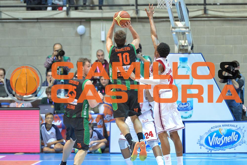 DESCRIZIONE : Final Eight Coppa Italia 2015 Desio Quarti di Finale Olimpia EA7 Emporio Armani Milano - Sidigas Scandone Avellino <br /> GIOCATORE : Cavaliero Daniele<br /> CATEGORIA : Tiro controcampo<br /> SQUADRA : Sidigas Avellino<br /> EVENTO : Final Eight Coppa Italia 2015 Desio <br /> GARA : Olimpia EA7 Emporio Armani Milano - Sidigas Scandone Avellino <br /> DATA : 20/02/2015 <br /> SPORT : Pallacanestro <br /> AUTORE : Agenzia Ciamillo-Castoria/I.Mancini