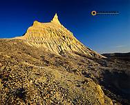 Badlands below White Butte is the highest point in North Dakota at 3506 feet near Bowman, North Dakota, USA