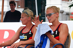 30-06-2000 NED: Beach Masters Tournooi, Apeldoorn<br /> Rebekka Kadijk, Marrit Leenstra