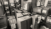 A newly built (pre-Covid) ward was rapidly converted into a PPE supplies storeroom so that supply to staff from different wards was centralised & streamlined. It also meant that inventory could easily be maintained & updated. <br /> <br /> From my exhibition series for  Betsi Cadwaladr via the Betsi Research Unit.<br /> <br /> My brief was not frontline action as seen on all news outlets, but the way hospitals & staff have adapted to cope with the crisis, from PPE to social distancing & also those vital behind the frontline workers essential throughout the crisis to support frontline NHS staff.<br />  <br /> A small touring exhibition will be open to the public when safer times permit.