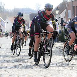 27-02-2016: Wielrennen: Omloop Nieuwsblad vrouwen: Gent<br />GENT (BEL) wielrennen<br />De opening van het Noord Europese wielerseizoen is traditioneel de opening van het wielerseizoen bij de mannen en vrouwen. Lisa Brennauer on Nokereberg