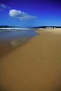 Cloud and blue sky at Samurai Beach Port Stephens, NSW, Australia