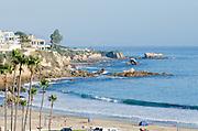 Pacific Ocean Coastline Of Orange County
