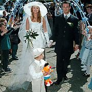 Huwelijk schooljuf in de Goede Herderkerk Huizen