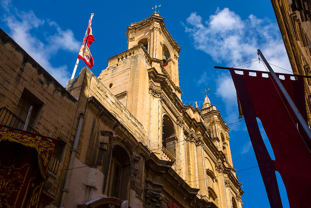 St. Augustine Church, Valetta, Malta