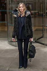 © Licensed to London News Pictures.15/03/2018. London, UK. MICHELLE YOUNG, the former wife of the late property tycoon Scot Young takes part in photo call at offices of her Bankruptcy Trustee, FRP Advisory, in relation to her divorce settlement. Photo credit: Ray Tang/LNP