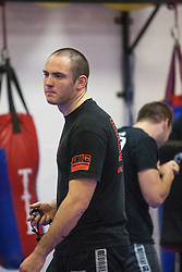 Stef Noij, KMG Instructor from the Institute Krav Maga Netherlands, taking the IKMS G Level Programme seminar today at the Scottish Martial Arts Centre, Alloa.