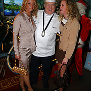 Kerstborrel Princess 2004, Inge de Bruijn, zus jakline en Cas Spijkers
