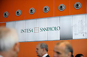 Intesa Sanpaolo Bank skyscraper designed by architect Renzo Piano in Turin, Italy.<br /> <br /> © Giorgio Perottino