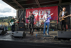 Lemonhaze on the Sun Break Out stage (!!!! NOTE !!! CAPTIONED EARLIER AS THE PHANTOMS !!!!). Sunday at Party at the Palace 2017, Linlithgow.