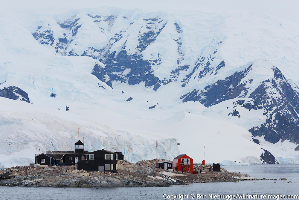 González Videla Base, is a  Chilean base on the Antarctic mainland's Waterboat Point in Paradise Bay, Antarctica.