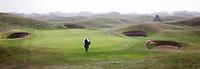 SANDWICH (GB) - Hole 6 van The Royal St. George's Golf Club (1887), één van de oudste en meest beroemde golfclubs in Engeland. COPYRIGHT KOEN SUYK