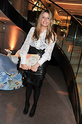 MISS ELEANOR CHAPMAN at a party to celebrate the launch of Carol Woolton's book 'Drawing Jewels For Fashion' held at Asprey, 167 New Bond Street, London W1 on 10th November 2011.