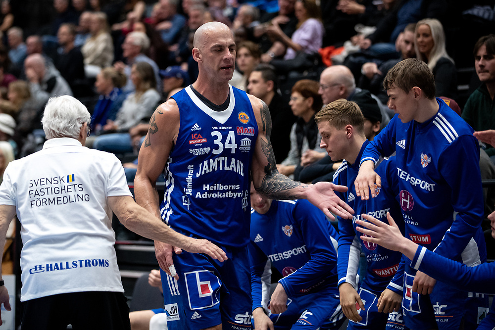 ÖSTERSUND 20210924<br /> Jämtlands RT Guinn under fredagens match i Basketligan mellan Jämtland Basket och Nässjö Basket i Östersunds Sporthall<br /> <br /> Foto: Per Danielsson/Projekt.P