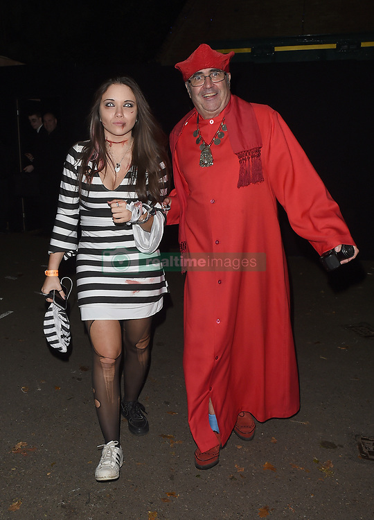 Celebrities attend an annual Halloween party, held at the Hampstead home of talk show host Jonathan Ross. 31 Oct 2017 Pictured: Danny Baker. Photo credit: Will / Craig / MEGA TheMegaAgency.com +1 888 505 6342
