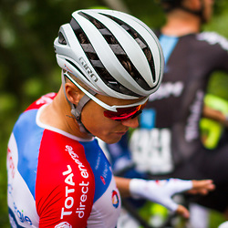 WIJSTER (NED) June 20: <br /> CYCLING <br /> Dutch Nationals Road Men up and around the Col du VAM<br /> Niki Terpstra (Netherlands / Team Total Direct Energie) before the start