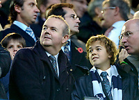 Photo: Ed Godden.<br /> Tottenham Hotspur v Chelsea. The Barclays Premiership. 05/11/2006. Ian Hislop watches from the stands.