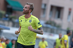 July 28, 2018 - Trento, TN, Italy - Luca Rigoni during the Pre-Season friendly between Sampdoria and Parma, in Trento on July 28, 2018, Italy  (Credit Image: © Emmanuele Ciancaglini/NurPhoto via ZUMA Press)
