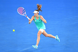 January 17, 2018 - Melbourne, AUSTRALIA - Alize Cornet  (Credit Image: © Panoramic via ZUMA Press)