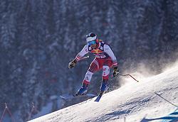 22.01.2019, Streif, Kitzbühel, AUT, FIS Weltcup Ski Alpin, Abfahrt, Herren, 1. Training, im Bild Romed Baumann (AUT) // Romed Baumann of Austria during the 1st Training of mens downhill of FIS Ski Alpine Worldcup at the Streif in Kitzbühel, Austria on 2019/01/22. EXPA Pictures © 2019, PhotoCredit: EXPA/ Johann Groder