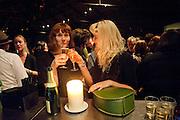 KATE NASH; ALISHA SADLER, The opening night of La Clique at the Rounhouse i. 25 November 2009