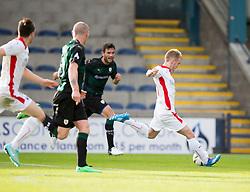 Falkirk's Craig Sibbald.<br /> Raith Rovers 0 v 0 Falkirk, Scottish Championship game played 27/9/2014 at Raith Rovers Stark Park.