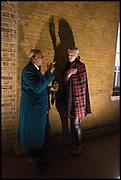 KHUROUM BUKHARI; GEORGINA HUDDART, Julia Peyton-Jones, Hans Ulrich Obrist and Coach host the Serpentine Future Contemporaries Party. Serpentine Sackler Gallery. Kensington Gdns. London. 21 February 2015