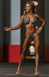 Sept.16, 2016 - Las Vegas, Nevada, U.S. -  SARAH JAMES BROWN competes in the Bikini Olympia contest during Joe Weider's Olympia Fitness and Performance Weekend.(Credit Image: © Brian Cahn via ZUMA Wire)