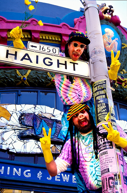 Hippie Hog Brothers in the Haight