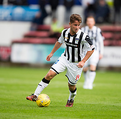 Dunfermline's Josh Falkingham. <br /> Dunfermline 7 v 1 Cowdenbeath, SPFL Ladbrokes League Division One game played 15/8/2015 at East End Park.