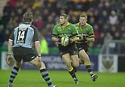 Northampton, Northamptonshire,  7th December 2002, [Mandatory Credit: Peter Spurrier/Intersport Images],Heineken European Cup - Franklin Gardens - Northampton vs Cardiff<br /> Ben Cohen