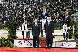 Podium Kur<br /> 1. Gal Edward<br /> 2. Bechtolsheimer Laura<br /> 3. Peters Steffen<br /> Alltech FEI World Equestrian Games <br /> Lexington - Kentucky 2010<br /> © Dirk Caremans