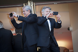 Claude Lelouch, Roman Polanski attend the 70th Anniversary screening during the 70th annual Cannes Film Festival at Palais des Festivals on May 23, 2017 in Cannes, France. Photo by Shootpix/ABACAPRESS.COM  | 593988_363 Cannes France