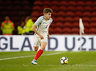 Jonjoe Kenny of England during the U21 UEFA EURO first qualifying round match between England and Scotland at the Riverside Stadium, Middlesbrough, England on 6 October 2017. Photo by Paul Thompson.