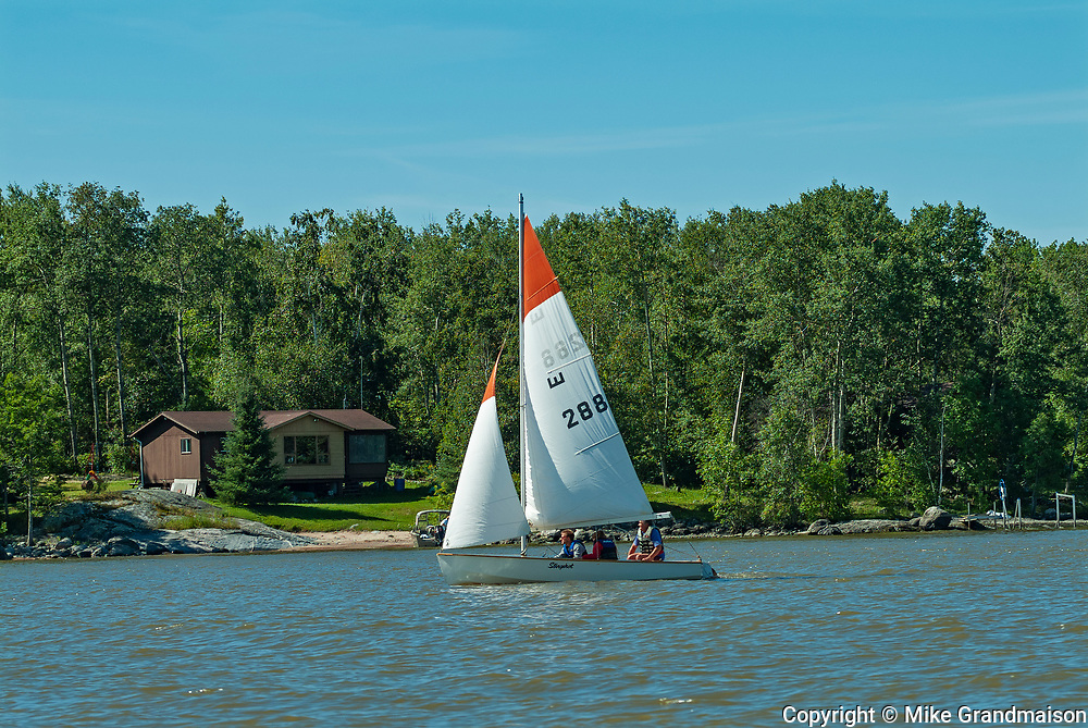 Sailing on Lake of the Woods<br />Lake of the Woods<br />Ontario<br />Canada