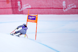 17.01.2018, Olympia delle Tofane, Cortina d Ampezzo, ITA, FIS Weltcup Ski Alpin, Abfahrt, Damen, 1. Training, im Bild Tiffany Gauthier (FRA) // Tiffany Gauthier of France in action during the 1st practice run of ladie' s downhill of the Cortina FIS Ski Alpine World Cup at the Olympia delle Tofane course in Cortina d Ampezzo, Italy on 2018/01/17. EXPA Pictures © 2018, PhotoCredit: EXPA/ Dominik Angerer