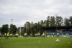 June 6, 2017 - Helsingborg, SVERIGE - 170606 …versiktsbild Å¡ver en trÅning med U21-landslaget i fotboll den 6 juni 2017 i Helsingborg  (Credit Image: © Ludvig Thunman/Bildbyran via ZUMA Wire)
